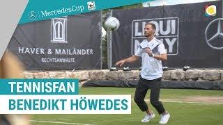 Tennisfan Benedikt Höwedes in Stuttgart   MercedesCup   myTennis