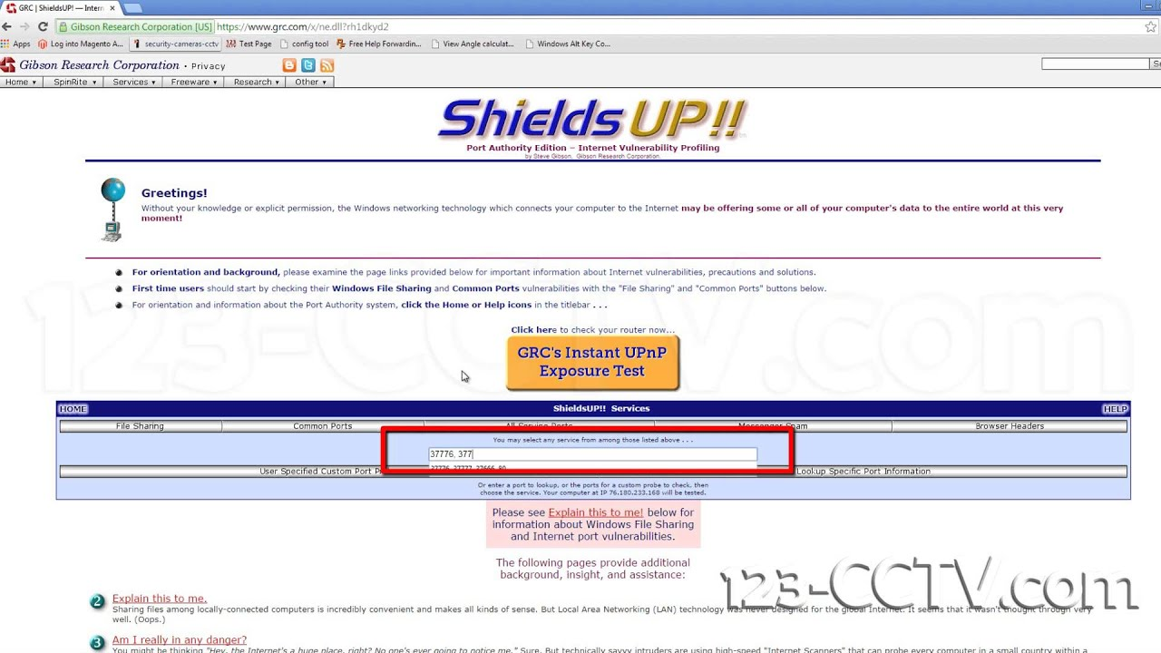 How to check if ports on your router are open | Port Forwarding by 123CCTV