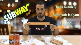SUBWAY | FURKAN'IN YOLU |  Ne Söyledik Ne Geldi | Tuna + Baharatlı İtalyan + Cookie + İçecekler