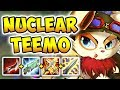 NUCLEAR ONE-SHOT TEEMO MID! THE MOST BROKEN ASSASSIN COMBO (PASSIVE + DUSKBLADE)! League of Legends