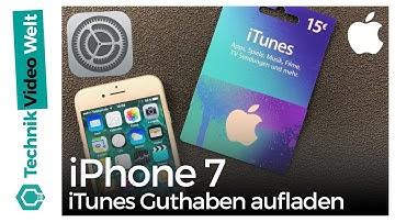 iTunes Guthaben einlösen
