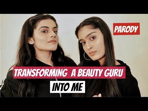 Transforming A Beauty Guru Into Me! ft. Dhwani Bhatt.