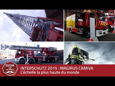 MAGIRUS CAMIVA prend de la hauteur : INTERSCHUTZ 2015