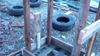 Diy Firewood Cutting Stand