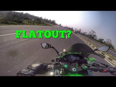Kawasaki Ninja 1000 High Speed Run On NH8 | Raw Footage |