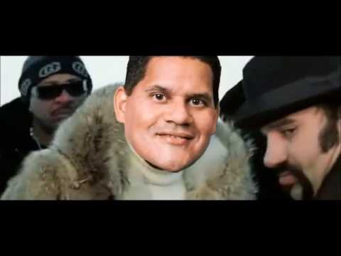 Reggie Fils-Aime fist fight footage!!!! (Chomp Chain Podcast clip)