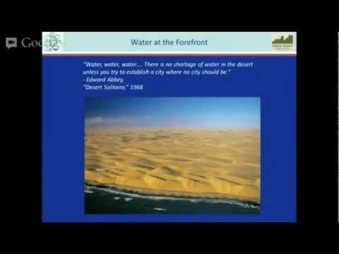 Introduction to Integrated Water Management by Jeff Bruce