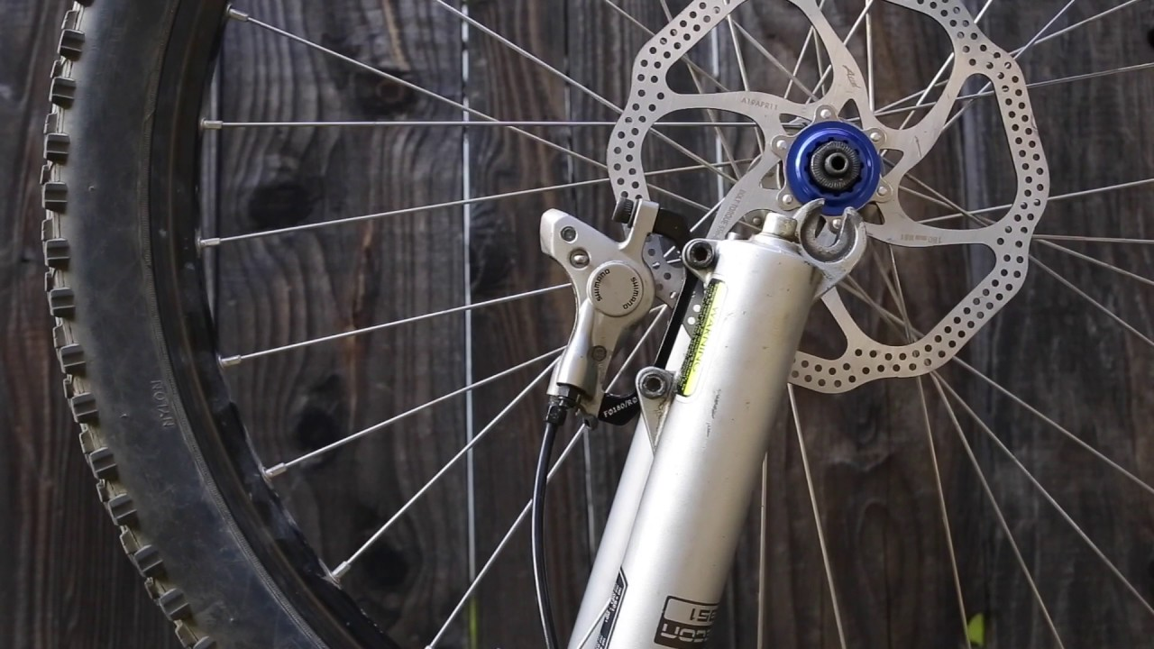 How To Convert From 160mm To 180mm Mountain Bike Rotors
