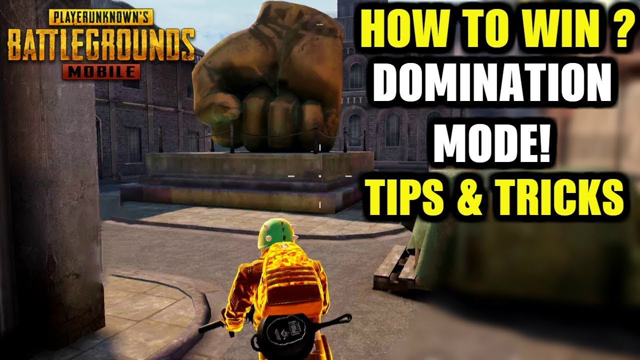 How To Win Every DOMINATION MODE in PUBG Mobile! | Domination Mode Tips Tricks