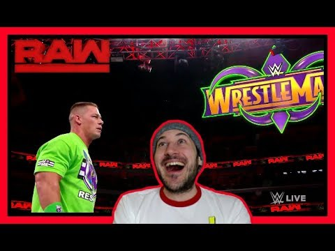 Reaction | JOHN CENA CALLS OUT THE UNDERTAKER | WWE RAW March 12, 2018
