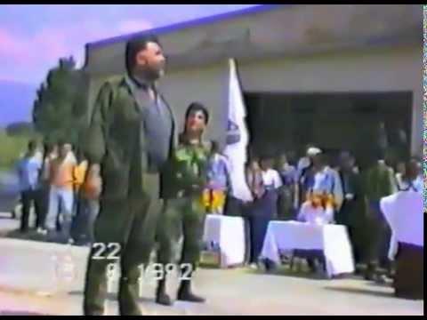 JOSIP PEJAKOVIĆ I rahmetli general ENVER ŠEHOVIĆ, heroj oslobodilačkog rata, 15.AVGUST 1992.GODINE
