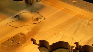 Scroll Saw Map