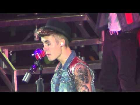 Justin Bieber - Die In Your Arms Believe Tour Melbourne Australia 2013