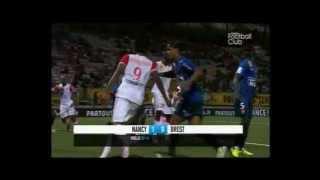 But Nancy - Brest 1er Journée Ligue 1 2012 / 2013
