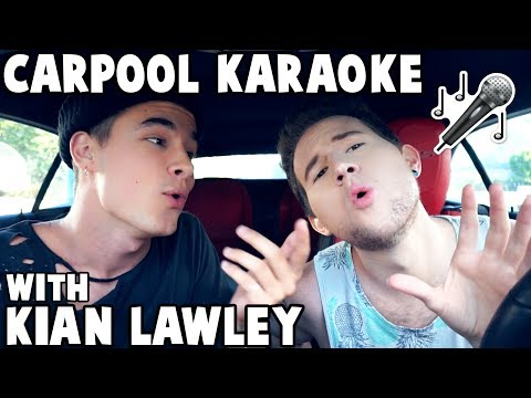 CARPOOL KARAOKE w/ KIAN LAWLEY