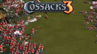 Cossacks 3 Gameplay - Venice Gameplay 2vs2 Teams