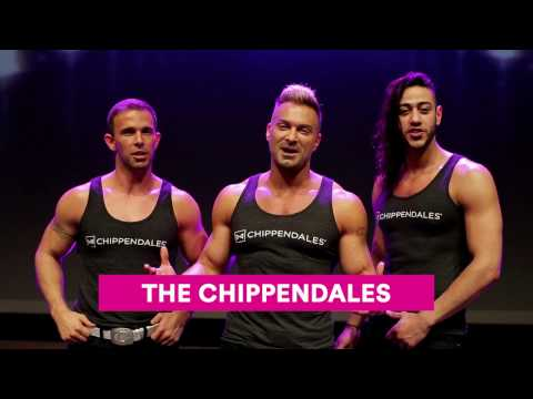 Chippendales 14 april 2018 Rai Theater Amsterdam