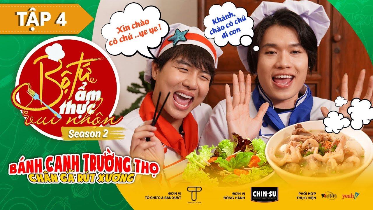 Bé Sa Duy Khánh, mẹ Quang Trung ăn sạch Bánh Canh Trường Thọ ngon hú hồn Bộ Tứ Ẩm Thực Vui Nhộn 2 #4