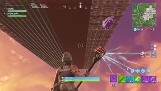 Playing fortnite Playground mode funny glitch