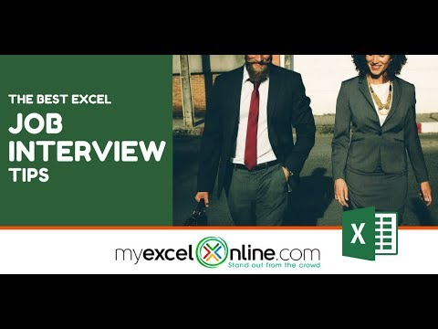 020 How To Prepare For An Excel Assessment Test For A Job Interview