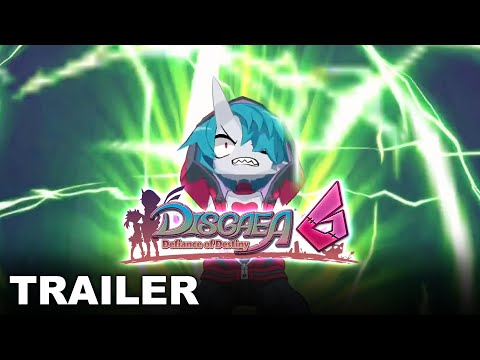 Disgaea 6: Defiance of Destiny - Story Trailer (Nintendo Switch)