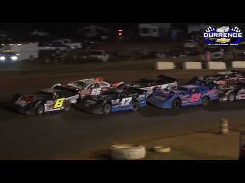 Durrence Layne Dirt Late Model Series at Talladega Short Track 10-12-19 Feature