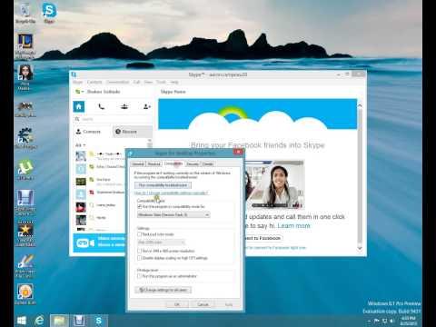 Skype windows 8.1/8/7 skype annoyance problem