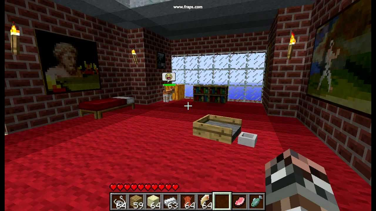 How To Make Dog Beds In Minecraft