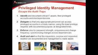 Your Top 5 Privileged Identity Audit Traps - And How to Avoid Them