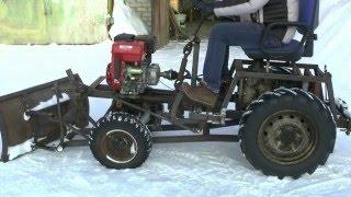 как сделать своими руками мини трактора