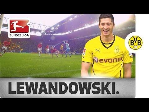 Robert Lewandowski - Top 5 Goals for Borussia Dortmund