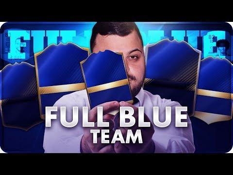 INCREDIBILEEE !!! FULL BLUE CARD CHALLENGE [FIFA 17]