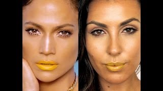 Jennifer Lopez (JLo) Flawless Yellow Lip - Professional Get The Look Tutorial