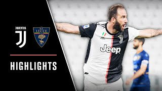 Juventus 4-0 Lecce | Juventus Blows Away Lecce And Extends Title Lead | Serie A Highlights
