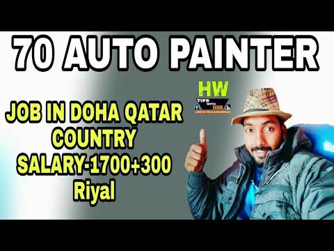 70 Auto Painter Vacancy At Qatar Gulf Country, 2000 Riyal ...