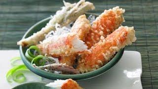 Tempura Alaska Crab Legs (japan)