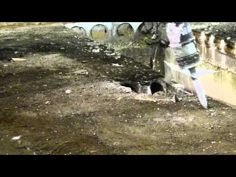 Removing Core Slab Curling Rink