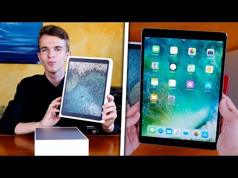 """iPad Pro 10.5"""" - Unboxing & Prime Impressioni con iOS 11"""