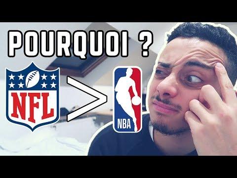 POURQUOI JE PRÉFÈRE LA NFL À LA NBA !