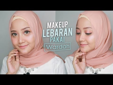 MAKEUP LEBARAN EVERYDAY GLOW | ONE BRAND WARDAH | GLAM AND GIRLY DI HARI RAYA |  Linda Kayhz