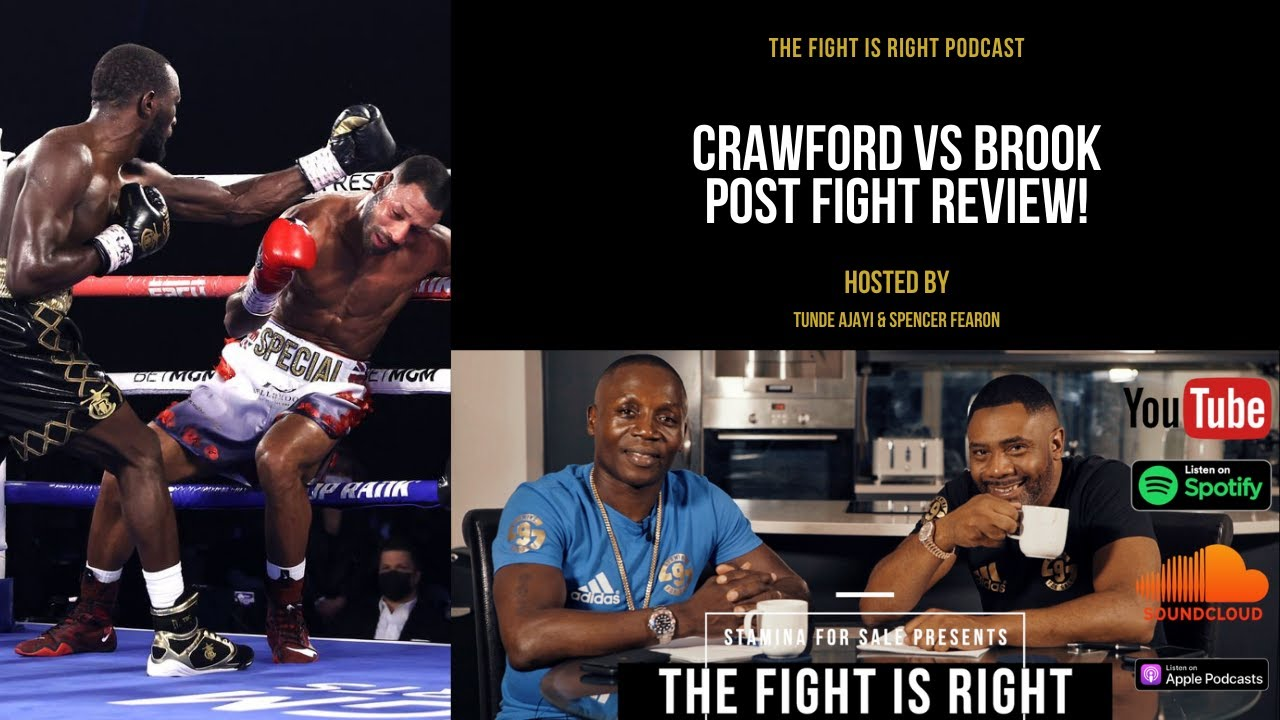 Crawford vs Brook fight review, boxing pound for pound debate & next steps for Terence Crawford