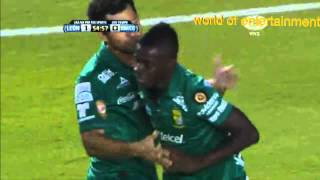 Gol De Yamilson Rivera Leon Vs Morelia 4-0 Jornada 3 Apertura 2014 Liga Mx Hd