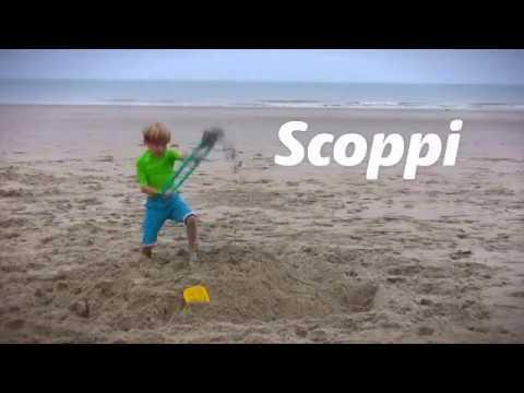 Лопата с ситом для песка и снега Quut Scoppi