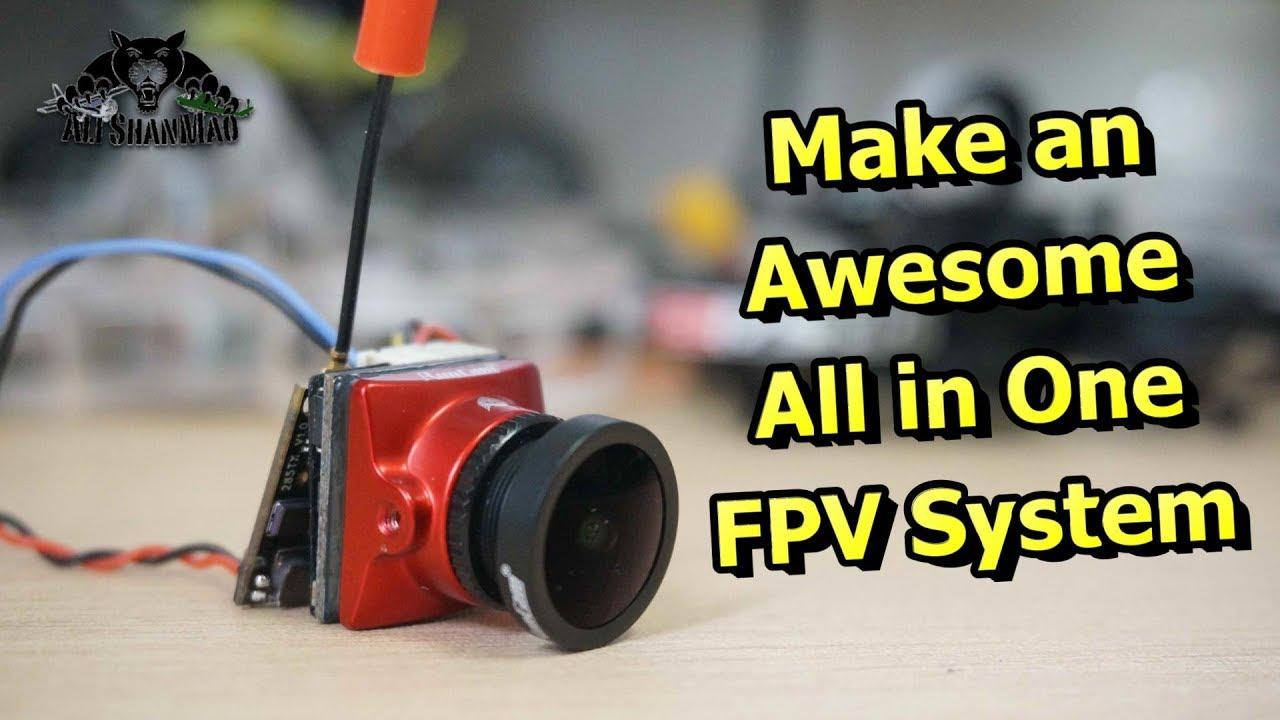 Make AIO FPV System RunCam Eagle Micro RunCam TX200U