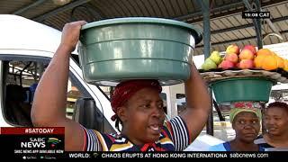 Joburg CBD informal traders trying to earn an honest living