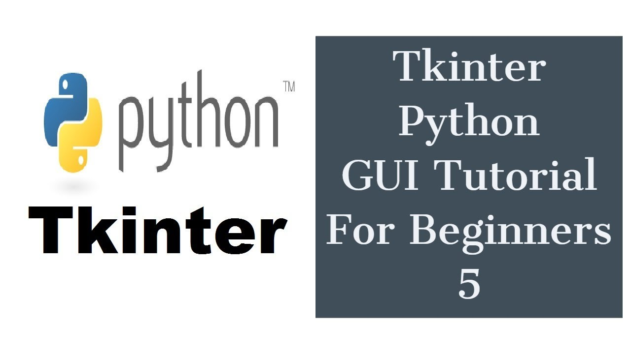 Tkinter Python GUI Tutorial For Beginners 5 - Entry Widget, ComboBox  widget, Tkinter Image