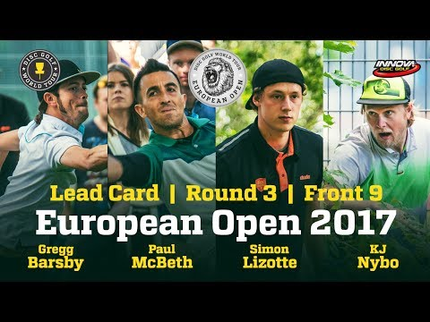 European Open 2017 Lead Card Round 3 Front 9