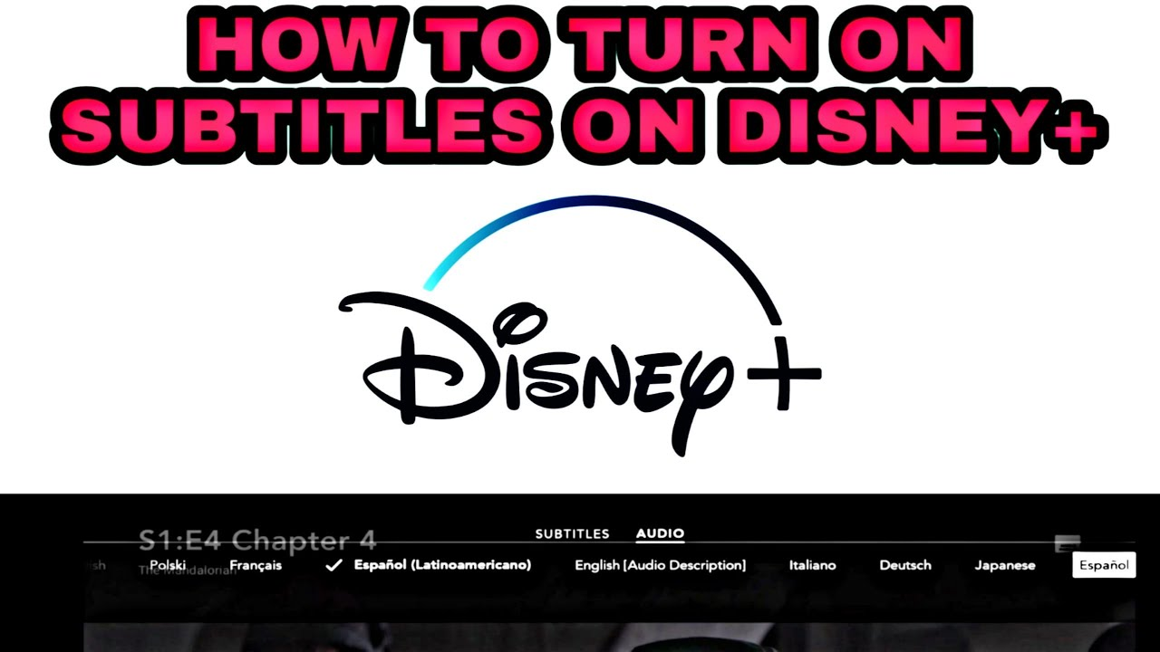 maxresdefault - How To Get Rid Of Captions On Disney Plus