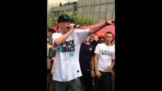 LAAS UNLTD - Freestyle bei Rap im Stadtpark