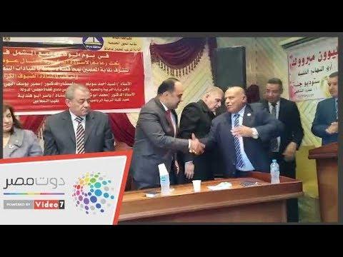 نقابة المعلمين بدمياط تُكرم ضحية واقعة التنمر الطفلة بسملة  - 21:55-2018 / 12 / 6